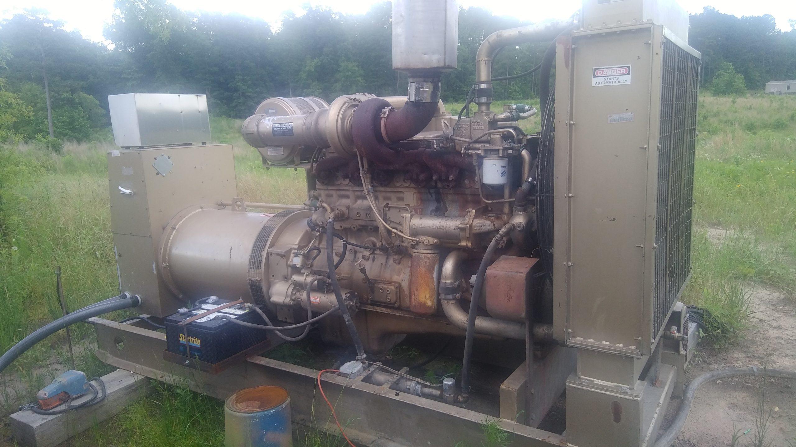 Genset 240kW